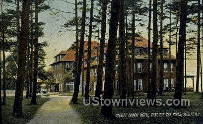 Olcott Beach Hotel Ny 1910