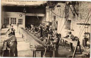 CPA École Prof. St-MICHEL - La Mecanique (193026)