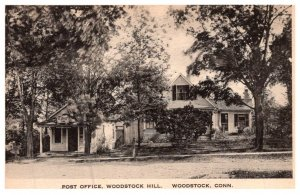 Connecticut Woodstock Hill , Post Office