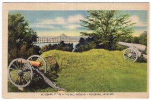 Vicksburg, Mississippi, Vicksburg Bridge In The Background