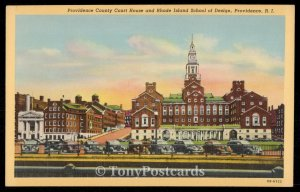 Providence County Court House and Rhode Island Schools of Design
