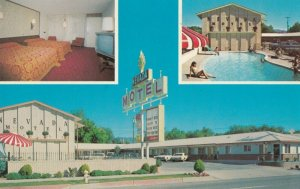 WINNEMUCCA , Nevada , 1950-60s ; NEVADA Motel w/swimming pool