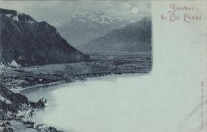 Souvenir du LAC LEMAN , 1890s