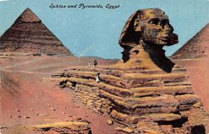 Egypt, Egypte, Africa Sphinx and Pyramids  Sphinx and Pyramids