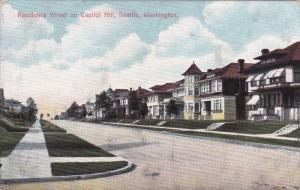 Residence Street on Capitol Hill, SEATTLE, Washington, PU-1908
