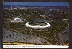DC Robert F. Kennedy Memorial Stadium RFK Redskins Washington Starplex Postcard