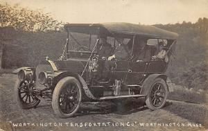 Worthington MA Transportation Company Vehicle Ringville MA Cancel Chauffeur RPPC