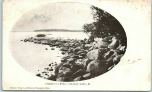 Okoboji Lake, Iowa Postcard Pillsbury's Point Pearson-Ullberg Co. 1900s Unused