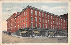 Baggs Hotel Utica NY 1922