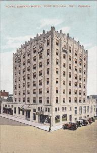 FORT WILLIAM, Ontario, Canada, 1900-1910s; Royal Edward Hotel