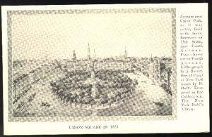 (4) Scenes of Old New York City 1800's Eno Art Collection