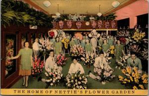St Louis Missouri~Nettie's Flower Shop~We Telegraph Flowers~Home of Orchids 1941