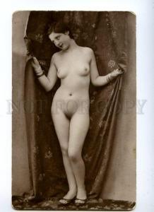 129057 NUDE Woman BELLE Vintage Real PHOTO PC