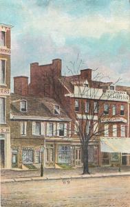 Philadelphia University Pennsylvania~College Hall 1960s
