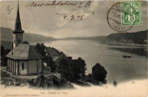 CPA AK Temple du Pont SWITZERLAND (704726)
