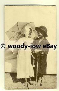 su1562 - 2 Young Children - Sweethearts - postcard