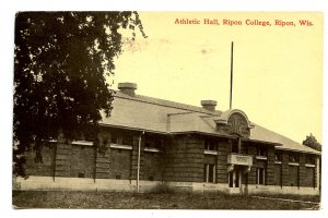 WI - Ripon. Ripon College, Athletic Hall