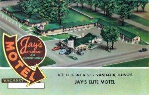 USA Jay's Elite Motel Vandalia Illinois 03.51