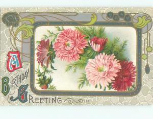 Divided-Back BEAUTIFUL FLOWERS SCENE Great Postcard AA2560