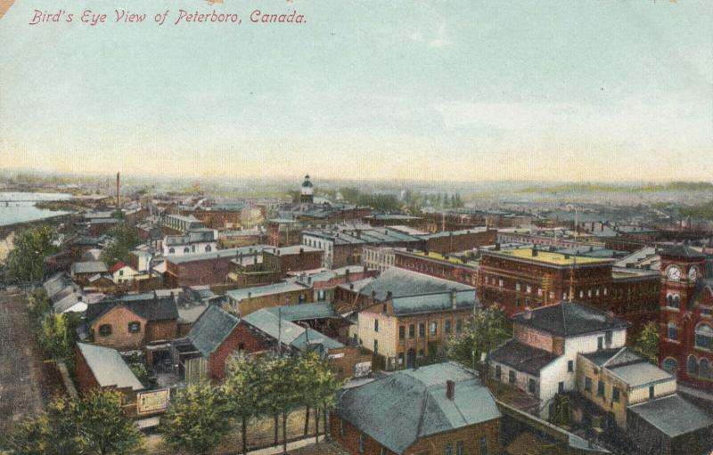 PETERBORO , Ontario , 1900-10s ; Bird's Eye View