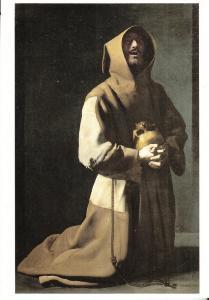 St. Francis in Meditation by Franciso de Zurbaran