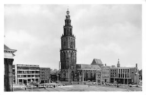 Netherlands Groningen Grote Markt met Martinitoren