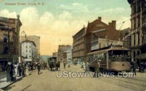 Genesee Street Utica NY 1909