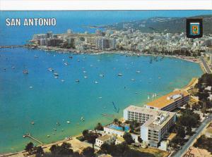 Spain Ibiza Isla Blanca San Antonio Panorama View