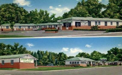 Georgia-Florida Motel Monticello FL Unused