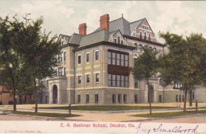 DECATUR , Illinois , 1901-07; E.A.Gastman School