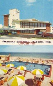 MERCURY LUXURY RESORT MOTEL Oceanfront at 108th Street MIAMI BEACH, FL poolside