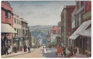 Vintage Postcard View, School Hill, LEWES, UK,  Raphael Tuck