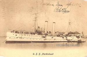 USS Marblehead Military Battleship 1907