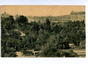 171809 HORSE TRAM Vintage undivided back postcard