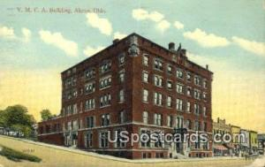 YMCA Building Akron OH 1920