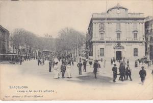 BARCELONA , Spain , 00-10s ; Rambla De Santa Monica