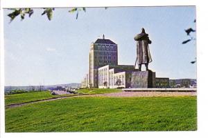 Portuguese Explorer Statue, Confederation Building, St John's Newfoundland, P...