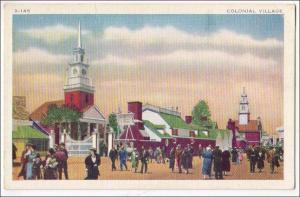 Colonial Village, 1934 Chicago World's Fair Expo
