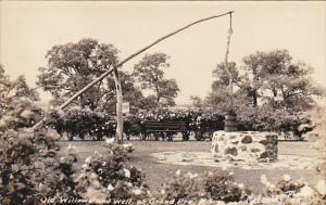 RP; Old Willow and Well at Grand Pre, Kings County, Nova Scotia, Canada, 00-10s