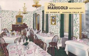 New York Niagara Fall The Marigold Restaurant