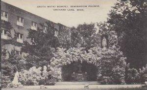 Michigan Orchard lake Grota Matki Boskiej Seminarium Polskie Artvue