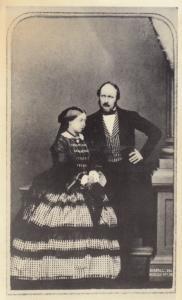 Queen Victoria in 1861 Photograph at Victoria & Albert Museum Postcard