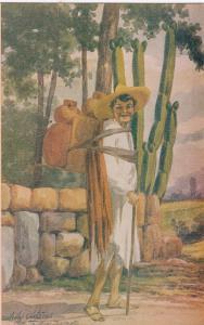AS: MEXICO, 1900-1910s; Man, Tipo Indigena
