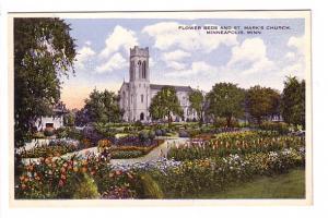 Flower Beds, St Mary's Church, Minneapolis, Minnesota, Minneapolis Selling Co...