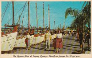 Florida Tarpon Springs Sponge Fleet At Dock