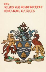BROCKVILLE , Ontario , Canada , 50-60s; Coat of Arms