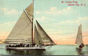 New Jersey Atlantic City Sailing Party 1912