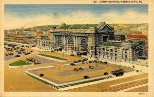 MO - Kansas City. Union Passenger Station (Railroad)