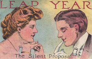 AUGUST HUTAFF ; LEAP YEAR , 00-10s ; The Silent Proposal