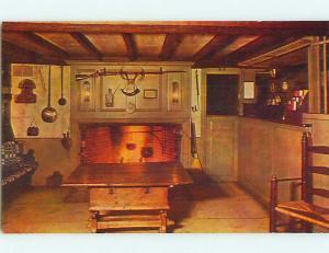 Unused 1950's BAR ROOM AT LONGFELLOW'S WAYSIDE INN South Sudbury MA s2442